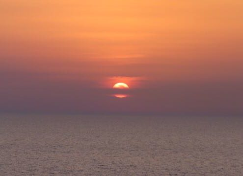 Med sunset